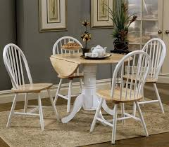 large size of tables chairs captivating round white cream oak wood drop leaf kitchen amazing dark oak dining