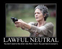 DeviantArt: More Like Carol Peletier Lawful Neutral by MagicSkullBall via Relatably.com