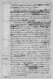image  of thomas jefferson  june   rough draft of the    manuscripts mixed material image  of thomas jefferson  june   rough draft of the declaration of independence