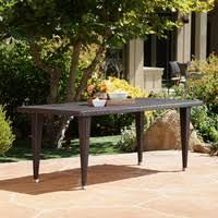 vidaXL <b>9 Piece Folding Outdoor</b> Dining Set Aluminum Black Chair ...