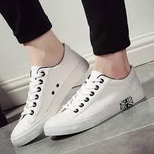 Men Casual Shoes <b>Brand</b> Men Shoes Leather Outdoor Walking ...
