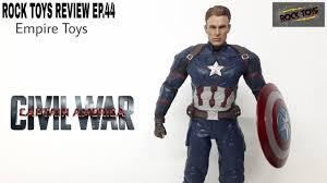 ROCK TOYS REVIEW EP.44 - Captain America Civil War <b>1/6</b> Empire ...
