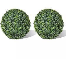 <b>Boxwood Ball Artificial Leaf</b> Topiary Ball 35 cm 2 pcs -