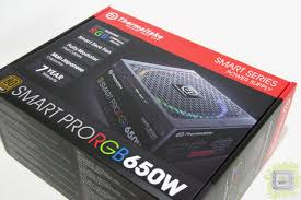 Обзор <b>блока питания Thermaltake</b> Smart Pro RGB Bronze 650W ...
