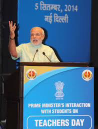 pm s interaction students on teachers day l2014090556465
