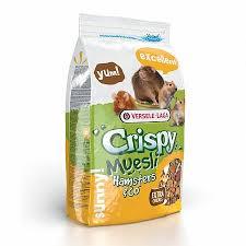 Купить <b>versele</b>-<b>laga crispy</b> muesli hamster полнорационный <b>корм</b> ...