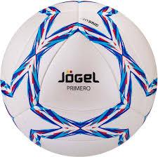 "<b>Мяч</b> футбольный <b>Jogel</b> ""<b>Primero</b>"", цвет: голубой, синий, красный ..."