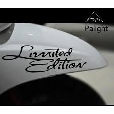 Limited Edition <b>Car Styling</b> Limited Edition Car Motorcycle Reflective ...