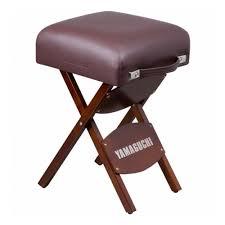Складной <b>стул для массажиста Yamaguchi</b> Comfort (коричневый ...