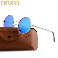 <b>KEITHION Brand Designer</b> Classic <b>Polarized</b> Round Sunglasses ...
