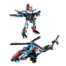 <b>Конструктор</b> инерционный <b>Cada Technic</b> 2 в 1 Вертолет / <b>Робот</b> ...
