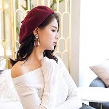 <b>Korean Fashion Jewelry</b> earrings minimalist temperament striped ...