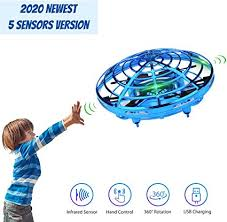 Hand Operated <b>Mini Drone</b> for Kids, Lumsburry Flying Ball <b>Toy</b> UFO ...