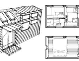 New Tiny House Plans Free   Cottage house plans    Free Tiny House On Wheels Plans