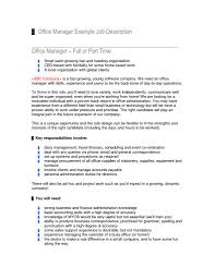 office manager job description for resume getessay biz office manager job description for resumepinclout templates and office manager job description for office manager job description resume