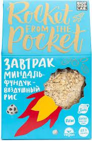 "<b>Готовый</b> сухой <b>завтрак Rocket</b> from the Pocket Гранола ""Миндаль ..."