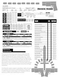 resume page  by seanmcnally on deviantartresume page  by seanmcnally