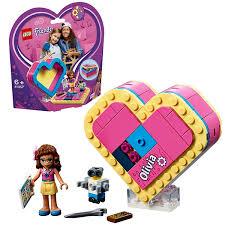 <b>Конструктор LEGO Friends Шкатулка</b> сердечко Оливии 41357 ...