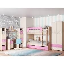 <b>Модульная детская</b> мебель <b>Юниор</b>-<b>1</b> (комплектация 4) купить за ...