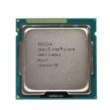Desktop CPU for Intel i5 3570 Processor Quad Core 3.4Ghz 77W ...