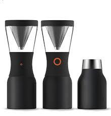 <b>Портативная кофеварка</b> Asobu Cold Brew <b>1 литр</b>, черная KB900 ...