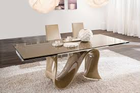Interesting Dining Room Tables Glass Dining Table Dining Set With Bench And Glass Dining Room