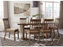 seven piece dining set: signature designs seven piece dining set signddnettctbl