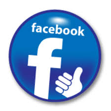 Image result for round facebook link logo