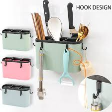 Kitchen <b>Chopsticks</b> Storage Box Kitchen <b>Cage</b> Cutlery Storage <b>Wall</b> ...