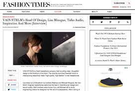 vain sthlm designer interviewed by nyc s fashion times sliding vain fashion times interview 1