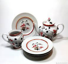 "Винтаж: Винтажный <b>набор</b> посуды "" Красная смородина"" ЛФЗ ..."