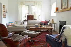 image credit sarah greenman beige sectional living room