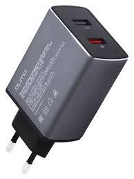 <b>Зарядное устройство Qumo 2xUSB</b> 2xQC 3 0 Charger 0021 Dark ...