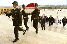 u s department of defense photo essay turkish iers a wreath bearing the of u s defense secretary chuck hagel as hagel