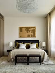 Хозяйская спальня. Кровать, прикроватные тумбы и тумба под ...