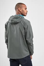 Купить Grey Shower Resistant <b>Anorak Jacket</b> на сайте Next: Россия