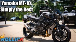 2019 <b>Yamaha MT-10</b> Test Ride Review [Best Supernaked] - YouTube
