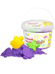 Умный <b>песок</b> 2. Фиолетовый <b>GENIO</b> KIDS 4139044 в интернет ...