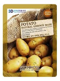 <b>Тканевая 3D маска</b> с экстрактом картофеля Potato Natural ...
