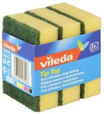 <b>Губка для посуды</b> Vileda Tip-Top 3 шт — купить по выгодной цене ...