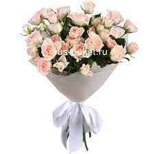 «<b>Букет</b> из 7 <b>кустовых</b> роз» - заказать и купить за 1 540 руб с ...