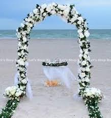 Decorating A Trellis For A Wedding Wedding Arch Decorations Ebay