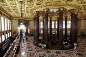Image result for images wall street bank interior