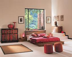 red themes decoration in modern bedroom with asian styles asian style for your master bedroom design asian style bedroom design