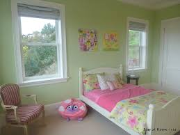 combination green white color bedroom inspiration
