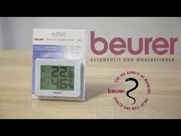 Термогигрометр <b>BEURER</b> (Бойрер) <b>HM</b> 16 Обзор. - YouTube