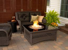 patio couch set patio furniture set with fire pit table and rattan patio furniture sets