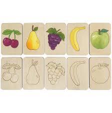 <b>Карточки</b>-<b>раскраски Wood</b> Games, <b>фрукты</b> (артикул 11495.02 ...