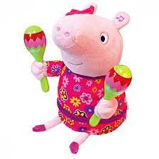 <b>Peppa Pig</b>: <b>Пеппа</b> с маракасами 30см: заказать по доступной ...