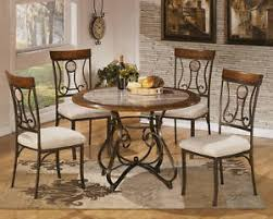 round dining table base: ashley furniture d b round dining room table base only hopstand brown new